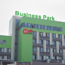 business park. virgin.